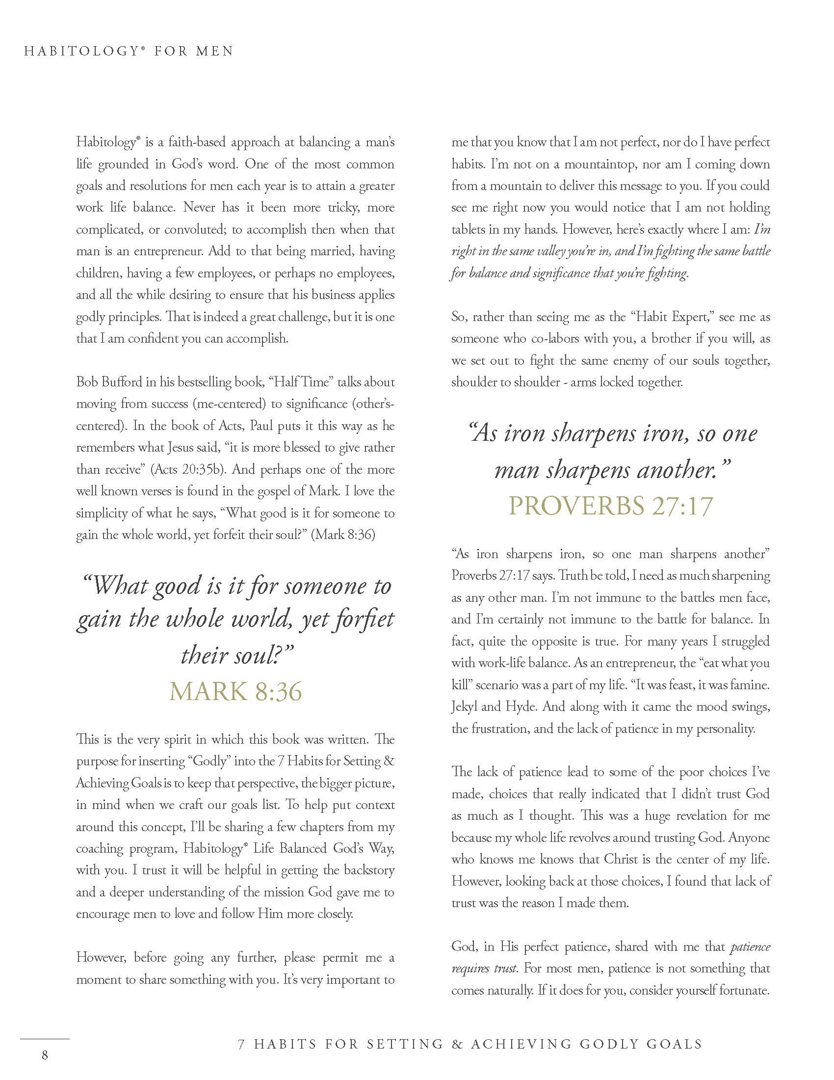 Habitology 7 Habits for Setting and Achieving Godly Goals, V7, 06-27-17 Page 08